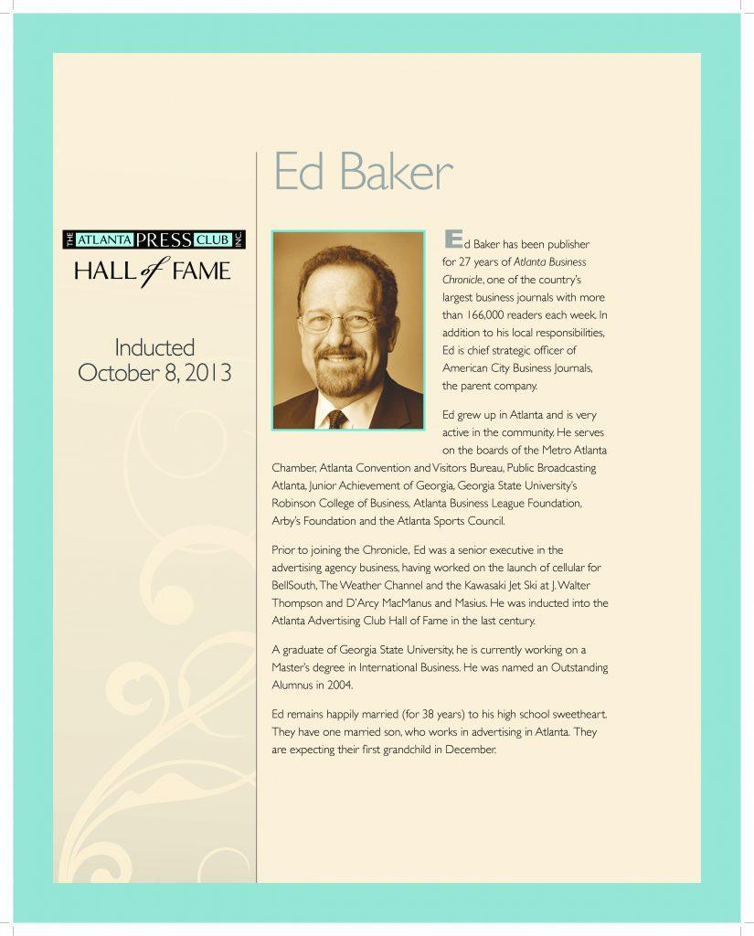 Baker bio pdf