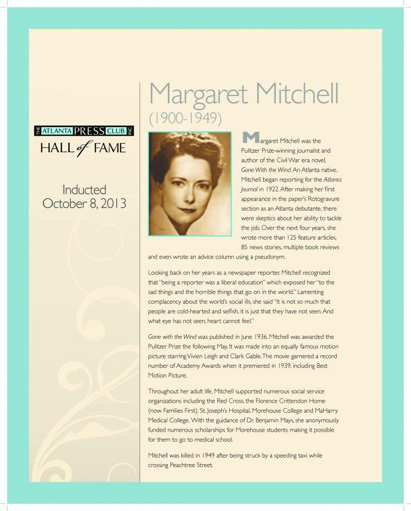 Mitchell bio pdf