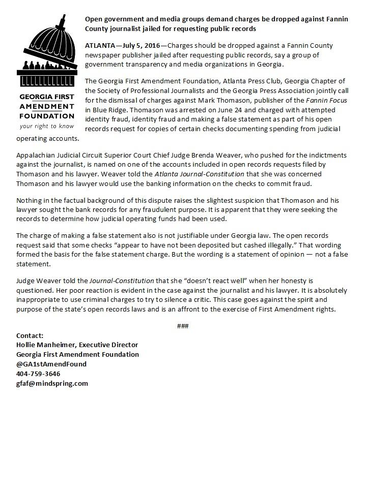 Fannin joint statement FINAL